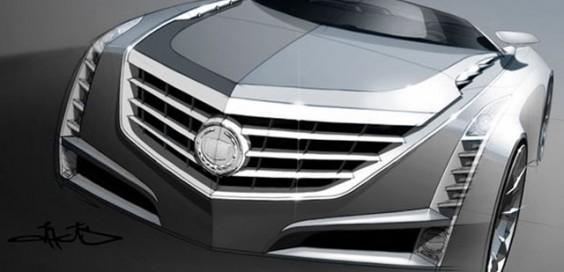 Cadillac Ciel 概念敞篷車設計圖