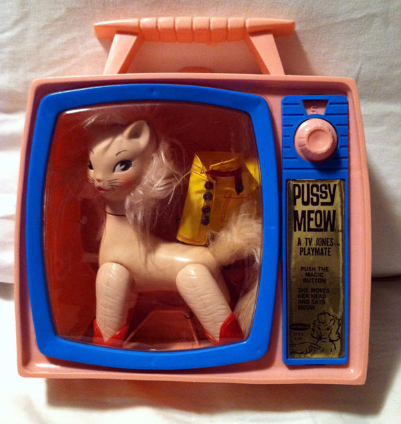 風韻猶存!1966年出產的時尚貓芭比娃娃