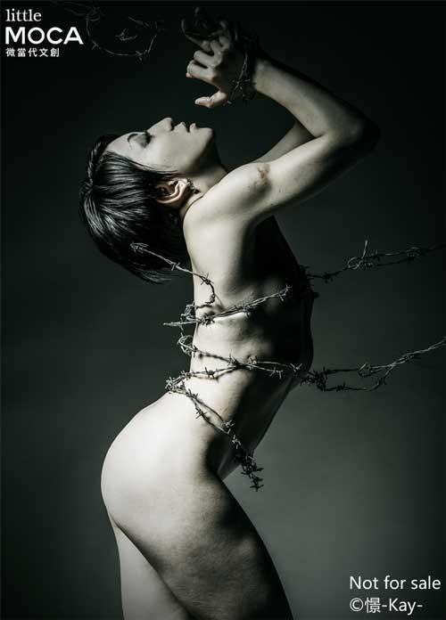 Wired Sekai-有刺鐵線人體藝術攝影展-