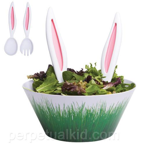 兔子偷吃我的沙拉!