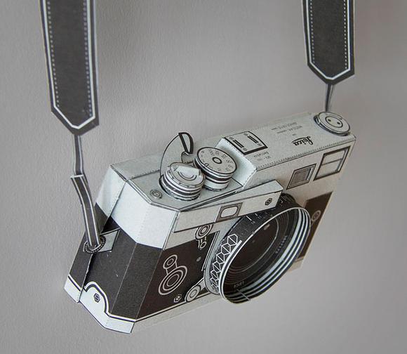 有稜有角、有型有款的徠卡紙相機