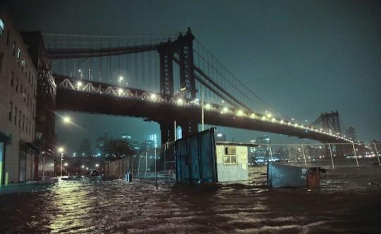 紐約SANDY颶風災後照片