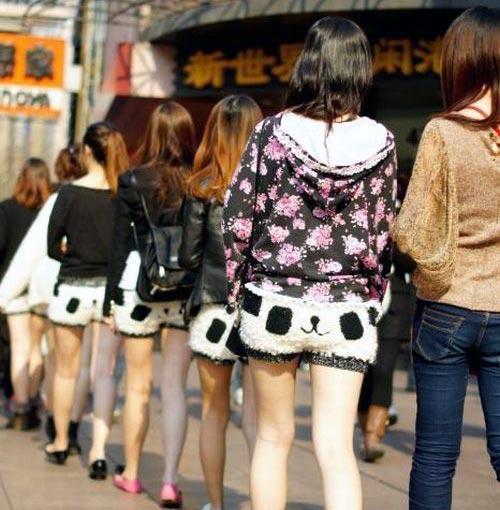 熊貓小短褲