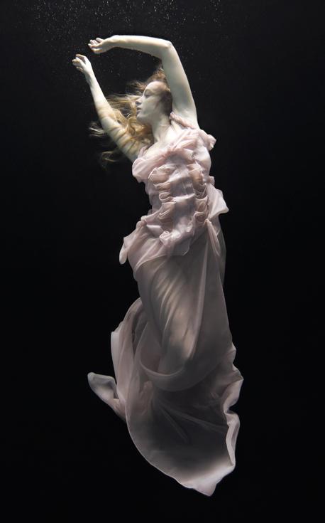 唯美的水底芭蕾攝影 Nadia Moro