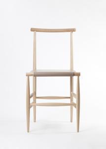 【皮與骨】溫潤簡約木椅