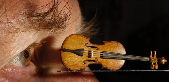 驚人袖珍手工小提琴