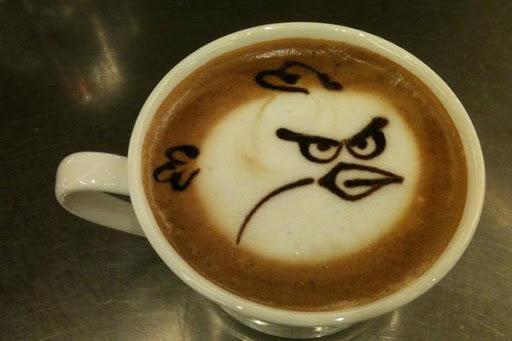 越喝越憤怒的憤怒鳥咖啡!噫噫哈哈噫噫!