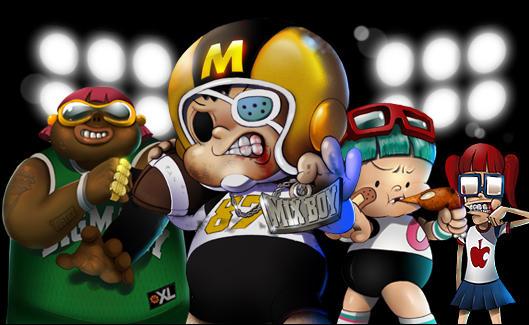 國人自製獨立漫畫《MIX BOY達陣男孩》