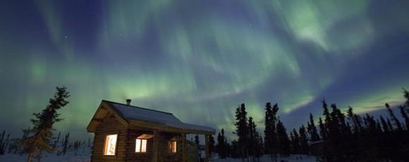 我想去阿拉斯加看極光!