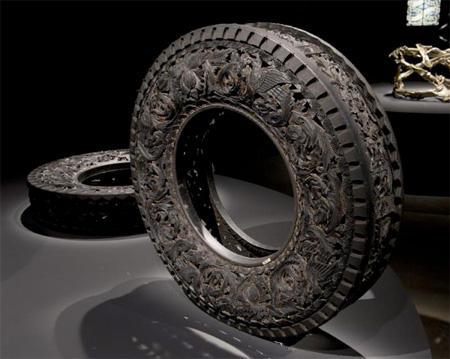視覺上很美的輪胎雕花