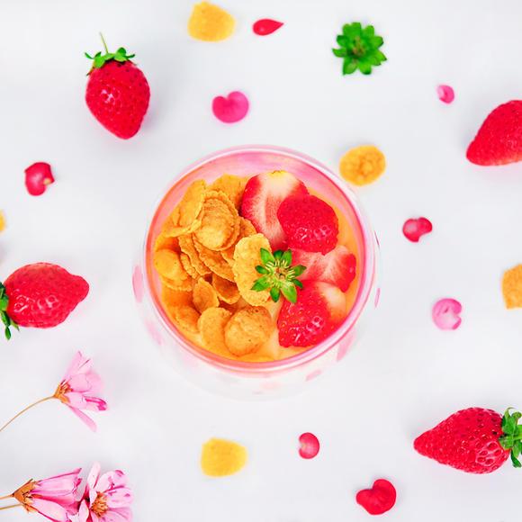 紅琉璃的草莓鮮奶酪DIY