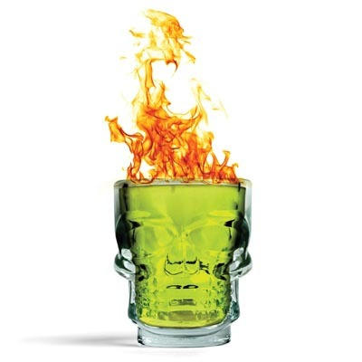 wow~~~燃燒的骷顱頭SHOT杯