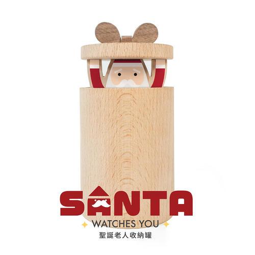 聖誕老人收納罐