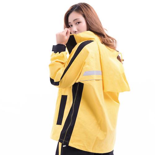 兩件式機能環保棉質雨衣